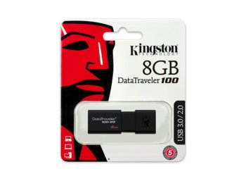 Kingston Data Traveler 100G3 8GB USB 3.0
