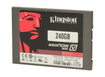 "Kingston V300 SERIES 240GB SATA3 2,5"" 450/450MB/s 7mm Bundle Kit"