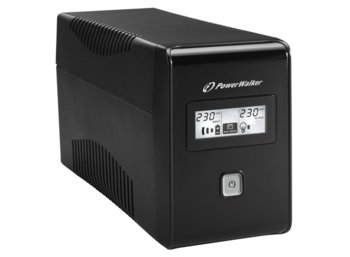 PowerWalker UPS POWER WALKER LINE-INTERACTIVE 850VA 2X 230V PL OUT, RJ11     IN/OUT, USB, LCD