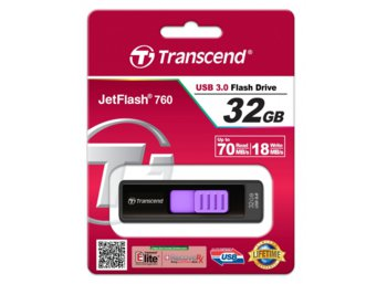 Transcend JETFLASH 760 32GB USB3.0 BLACK 85/15 MB/s