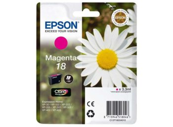 Epson Tusz T1803 Purpurowy  3.3ml do XP-30/102/20x/30x/40x