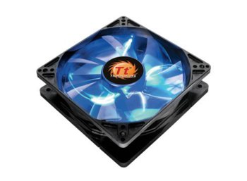 Thermaltake Wentylator - Longevity 120mm LED Blue Hydro Dynamic Bearing