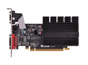 XFX Radeon HD5450 2GB HyperMemory DDR3 64-BIT Silent Low Profile (HDMI DVI VGA) BOX
