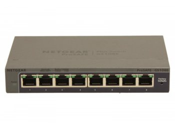 Netgear Switch Unmanaged Plus 8xGE - GS108E