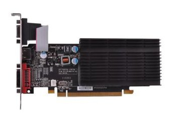 XFX Radeon HD6450 1GB DDR3 64-BIT Silent Low Profile (HDMI DVI VGA) BOX