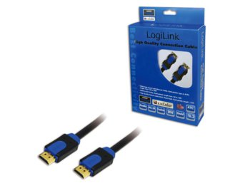 LogiLink Kabel HDMI 1.4 High Speed z Ethernet, dl. 3m