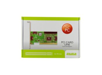 4world Kontroler PCI eSATA + SATA
