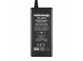 Whitenergy Zasilacz 19V | 2.64A 50W wtyk 4.7*1.7 mm Acer  04070