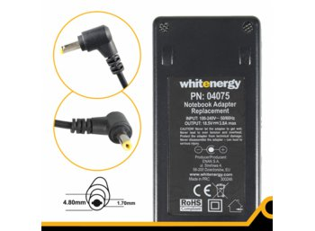 Whitenergy Zasilacz 18.5V | 3.8A 70W wtyk 4.8*1.7mm Compaq 04075