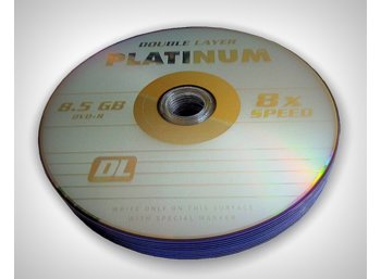 Platinum Poland DVD+R PLATINUM 8,5GB  8x DOUBLE LAYER SZP 10 SZT