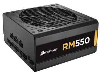 Corsair RM Series 550W FULLY Modular 80+ GOLD