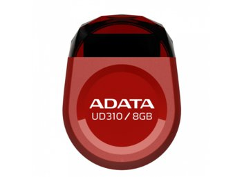 Adata DashDrive Durable UD310 8GB USB2.0 czerwony - micro