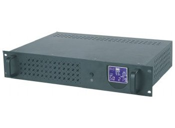 Gembird UPS 1500VA 3X IEC RJ11 IN/OUT USB RACK 19''