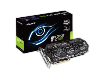 Gigabyte GeForce CUDA GTX970 4GB DDR5 PCI-E 256BIT 2DVI/HDMI/3DP BOX