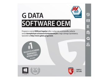 G DATA TotalProtection 2015 OEM Pakiet 5x1PC