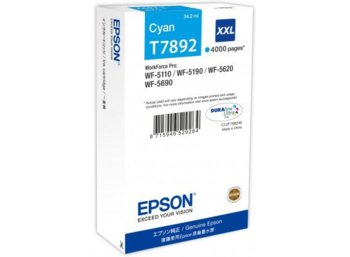 Epson Tusz C13T789240 Cyan/ do WF-5xxx Series