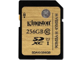 Kingston SDXC 256GB CLASS 10 UHS -I Ultimate Flash Card