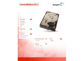 Seagate ST2000NM0053 2TB ES3 SATA 6Gb 128M 7,2 3,5in