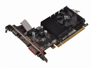 XFX Radeon R7 240 Core Edition 1GB DDR3 64-BIT 600/1300 LowProfile (HDMI DVI VGA)