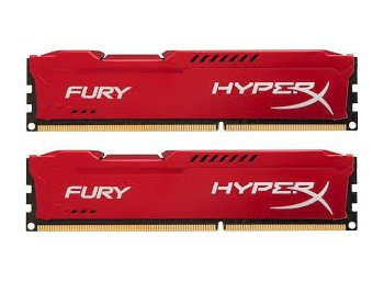 HyperX DDR3 Fury  8GB/ 1866 (2*4GB) CL10 RED