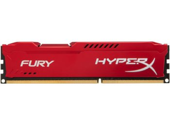 HyperX DDR3 Fury  4GB/ 1600 CL10 RED