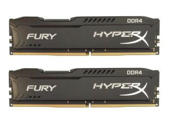 HyperX DDR4  Fury Black 8GB/2133 (2*4GB) CL14
