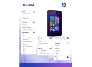 HP Pro Tablet 408 (L3S95AA)