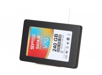 Silicon Power SSD VELOX V70 240GB 2,5 SATA3 5 lat gwarancji 550/520MB/s 9,5mm/adapter 3,5""