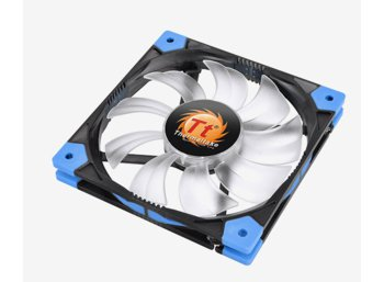 Thermaltake Wentylator - Luna Slim 14 LED Blue (140mm, 1200 RPM) BOX