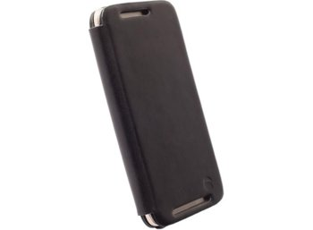 Krusell Etui FlipCase Kiruna do HTC One M9 - czarny