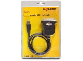 Delock Adapter USB->LPT(F) 25Pin 0,8m