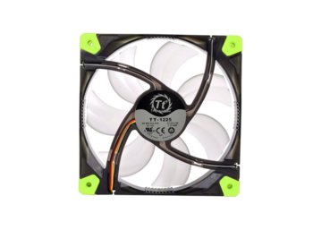 Thermaltake Wentylator - Luna 12 LED Green (120mm, 1200 RPM) BOX