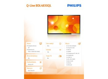 Philips 48'' BDL4830QL D-LED Public Display