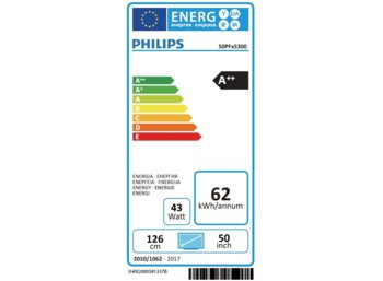 Philips 50''  LED    50PFH5300