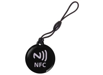 Global Technology TAG NFC BRELOK 512 BAJTÓW CZARNY
