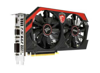 MSI GeForce CUDA GTX750Ti OC TF (N750Ti TF 2GD5/OC)