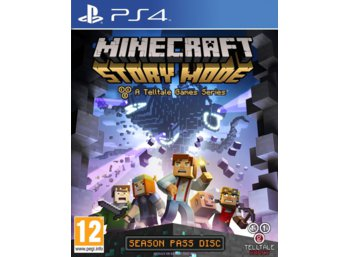 Techland Minecraft Story Mode PS4