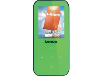 LENCO Odtwarzacz MP4 XEMIO-655 GREEN