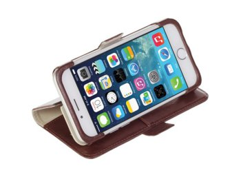 Krusell Etui Apple iPhone 6/6S Ekero FolioWallet brązowe