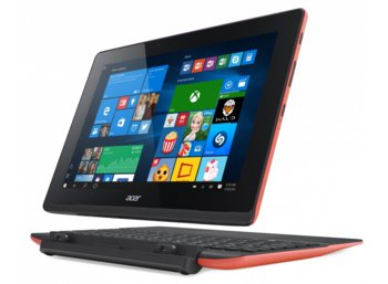 "Acer Switch SW3-013-18PX Win 10 Z3735F/2GB/32GB+500GB/Micro SD Card Reader/802.11 b/g/n/10.1"" red"