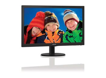 Philips 23.6'' 243V5LHSB LED DVI HDMI Czarny