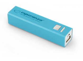 Esperanza POWER BANK ERG 2400mAh NIEBIESKI