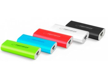 Esperanza POWER BANK HADRON 4400mAh CZARNY