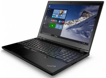 "Lenovo ThinkPad P50 20EN0004PB Win7Pro & Win10Pro64bit i7-6700HQ/8GB/500GB/M1000M, 2GB/6c/15.6"" FHD IPS NT 2D-Camera/3 Years On Site"