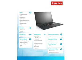 Lenovo ThinkPad X1 Carbon 4 20FC0038PB