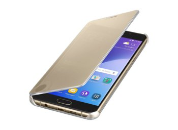 Samsung Clear View Cover Galaxy A5 (2016) Gold