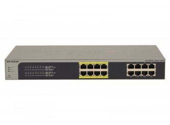 Netgear Switch Unmanaged Plus Rack 16xGE (8xPoE) - JGS516PE