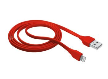 Trust UrbanRevolt Flat Lightning Cable 1m - red