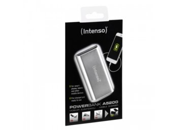 Intenso Powerbank A5200 Srebrny 5200mAh