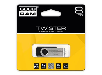GOODRAM TWISTER 8GB Black USB2.0